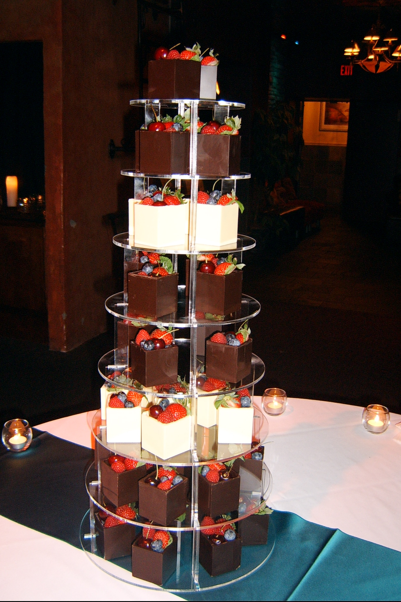 Paul and Liz's Grooms Tower.